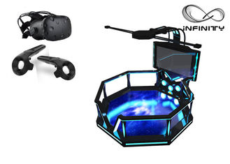 Chiny 56-calowy ekran Virtual Reality Equipment, Steel Material 9D VR Game Machine fabryka