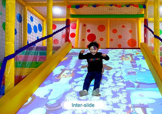 Chiny Interactive floor game projector interactive projection wall children game machine fabryka