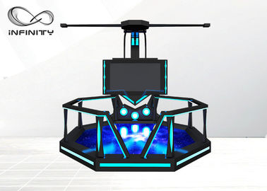 Chiny 1 osoba Indoor Game Zone 9D VR Game Machine / VR Shooting Simulator fabryka