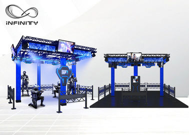 Chiny Producent VR CS Arcade Games Gun Shooting Range Simulator VR Space For VR Theme Park fabryka