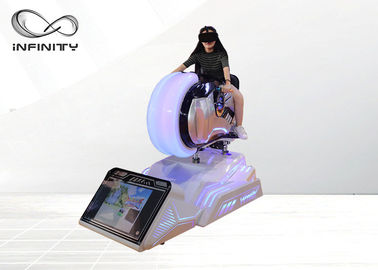 9D Race Motorbike Virtual Reality Game Machine / VR Car Driving Simulator