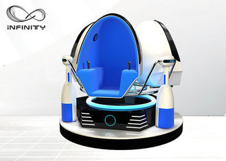 Chiny Arcade 9D VR Gry Wideo Virtual Reality 9D Egg Chair Z VR Glasses fabryka