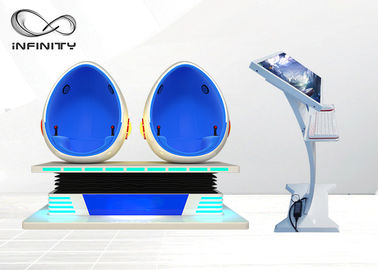 1500W Krzesło 9D Egg Cinema z interaktywną grą 9d Virtual Reality Movie Machine do centrum handlowego