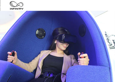 Funny Experience 9D VR Cinema / Electricity Platform 9D Motion Chair