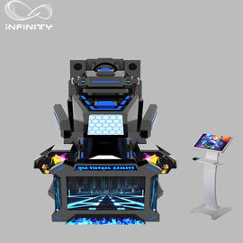 1 Seat Real Track VR Racing Simulator / 360 stopni Electric Motion Car Racing Machine