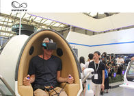 Cool 9D Egg VR Cinema 360 VR Chair 2 Seats For Shooping Mall CE UL