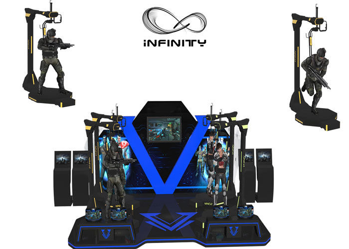 INFINITY Shopping Mall Kat Walk Virtual Reality Shooting Simulator CE Zatwierdzony