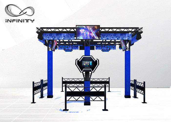 Multi - Player 9D Virtual Reality Walking Platform VR Gra symulacyjna