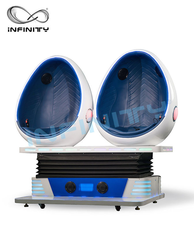 Chiny Infinity Virtual Reality Game Action Cinemas Simulator / 9D VR Chair Theatre dla strefy gry fabryka