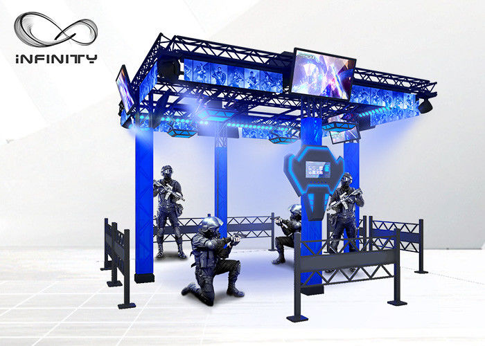 Chiny Franchiese Opportunities Virtual Reality High Quality Multiplayer Shooting Entertainment VR Space Game Simulator Machine fabryka