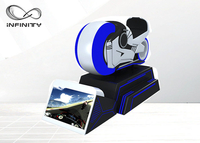 Motorcycle Rider Simulator 9D VR Driving Game Machine For Theme Park
