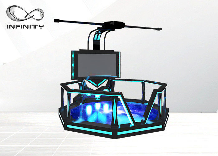 1000W 9D VR Walking Platform Interactive Virtual Reality Games VR Shooting Simulator