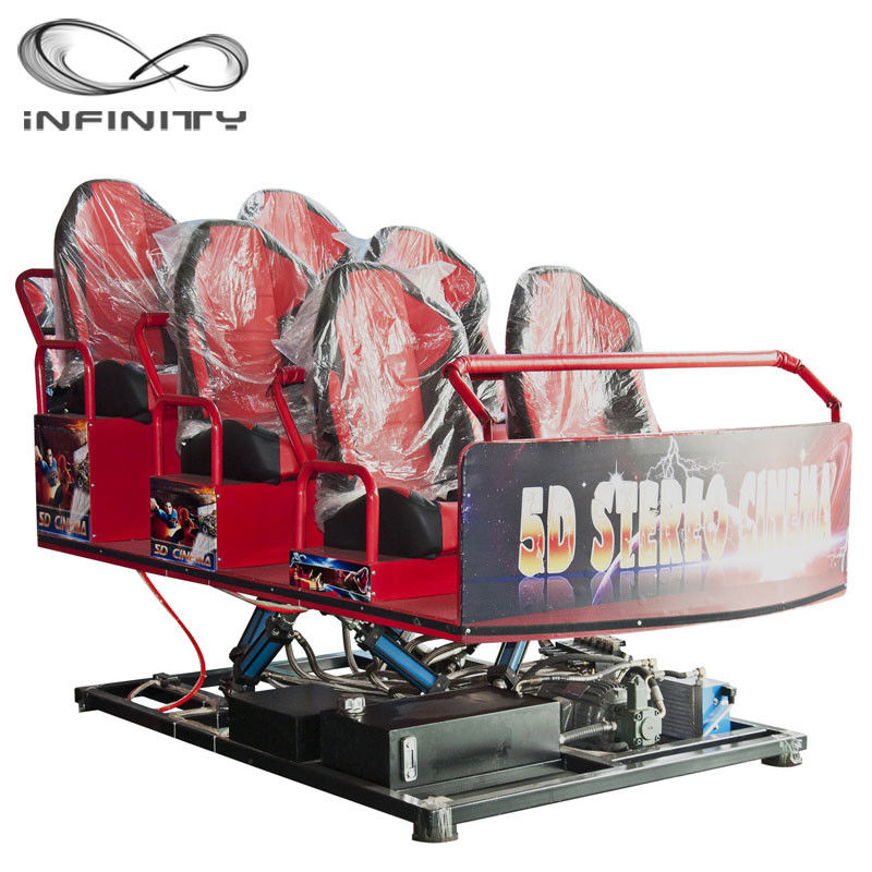 Chiny Interactive Motion Platform 7D Virtual Reality Cinema Truck Mobile 8D 9D 12D Theatre fabryka